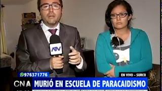 PAUL JIMENEZ -- PARACAIDISTA MUERE EN EJERCITO -