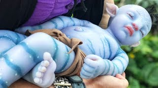 Taking Avatar Baby to Disney World