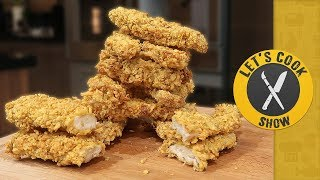 КУРИНЫЕ СТРИПСЫ KFC (КФС) / 11 ТРАВ И СПЕЦИЙ [Let's Cook Show]