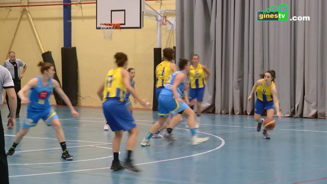 El mejor baloncesto femenino se dio cita en Gines con la disputa de la final a 4 de la provincia