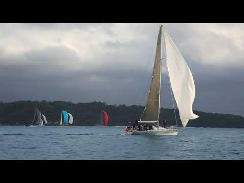 PONANT Sydney Noumea Race 2018 Start Highlights
