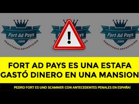 NUEVAS NOTICIAS DE LA ESTAFA FORT AD PAYS EN EL PAÍS!