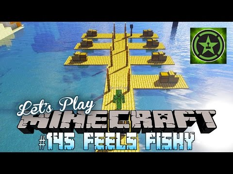 Let's Play Minecraft – Episode 145 – Feels Fishy
