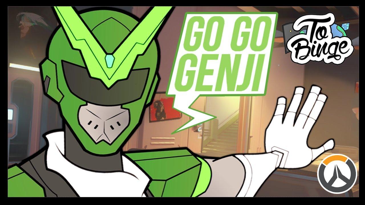 Go Go Genji An Overwatch Cartoon