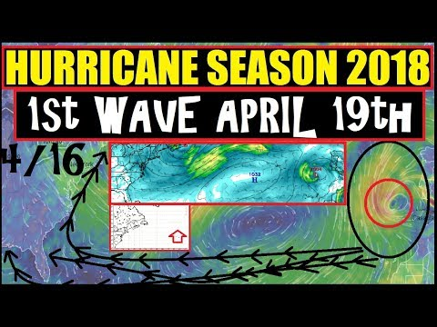 *HURRICAN SEASON 2018* 1st WAVE!? APRIL 19th 2nd Wave APRIL 25th