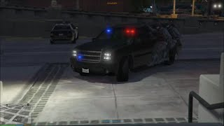 GTA 5 PC SAPDRR & POLICE MOD | SWAT TEAM RESPONDS TO SHOTS FIRED EPISODE 1