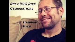 Subdivisions guitar solo- Rush R40 Riff Celebration- Brandon Dyke