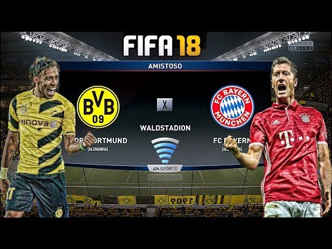 FIFA 18 /ONLINE/ Borussia Dortmund Vs FC Bayern München