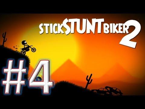 Stick Stunt Biker 2 #challenge 4 gameplay (android & ios)