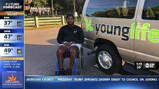 Former Largo High School star Bobby Roundtree continues to inspire after injury
