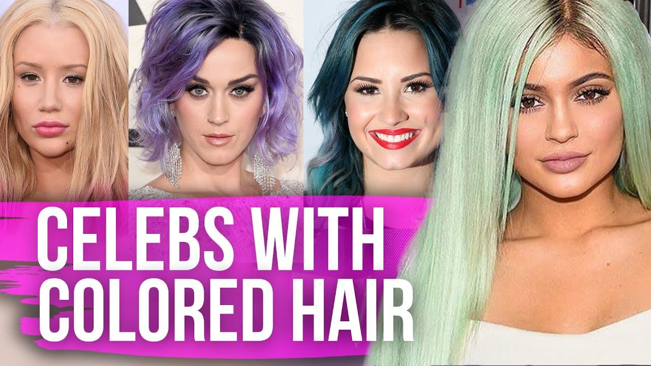 Celebrity Hair Color Trends For Spring Summer 2017 Updated