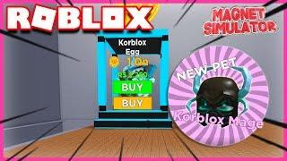 A NEW SUPER EXPENSIVE EGG! Roblox Magnet Simulator