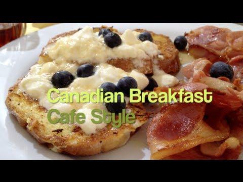 Canadian Breakfast Cafe Style Video Recipe cheekyricho