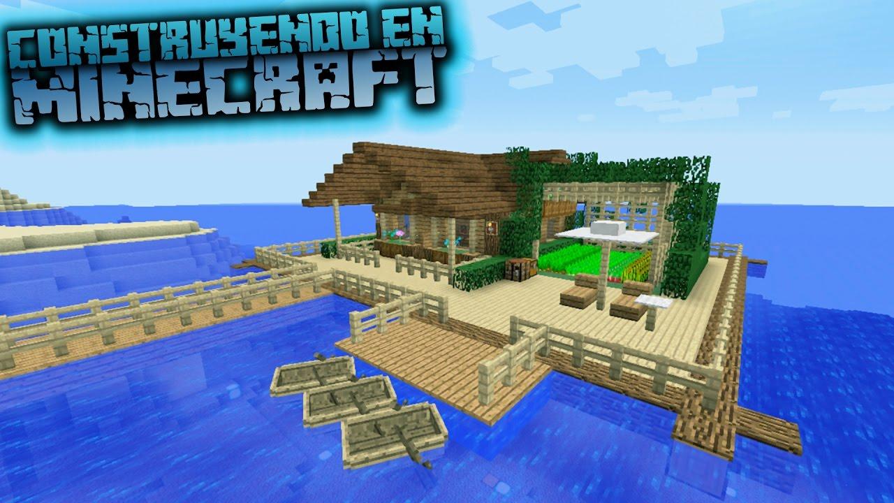 Como hacer una casa sobre el agua para survival en - Como construir mi casa ...