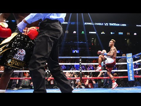 Jermell Charlo Stops Erickson Lubin in Round 1 | SHOWTIME CHAMPIONSHIP BOXING