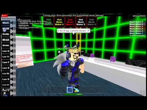 halo theme song roblox id