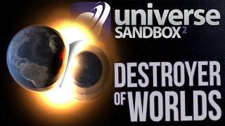 Universe Sandbox 2 Gameplay - Black Holes, Supernovas, Colliding Galaxies & More!