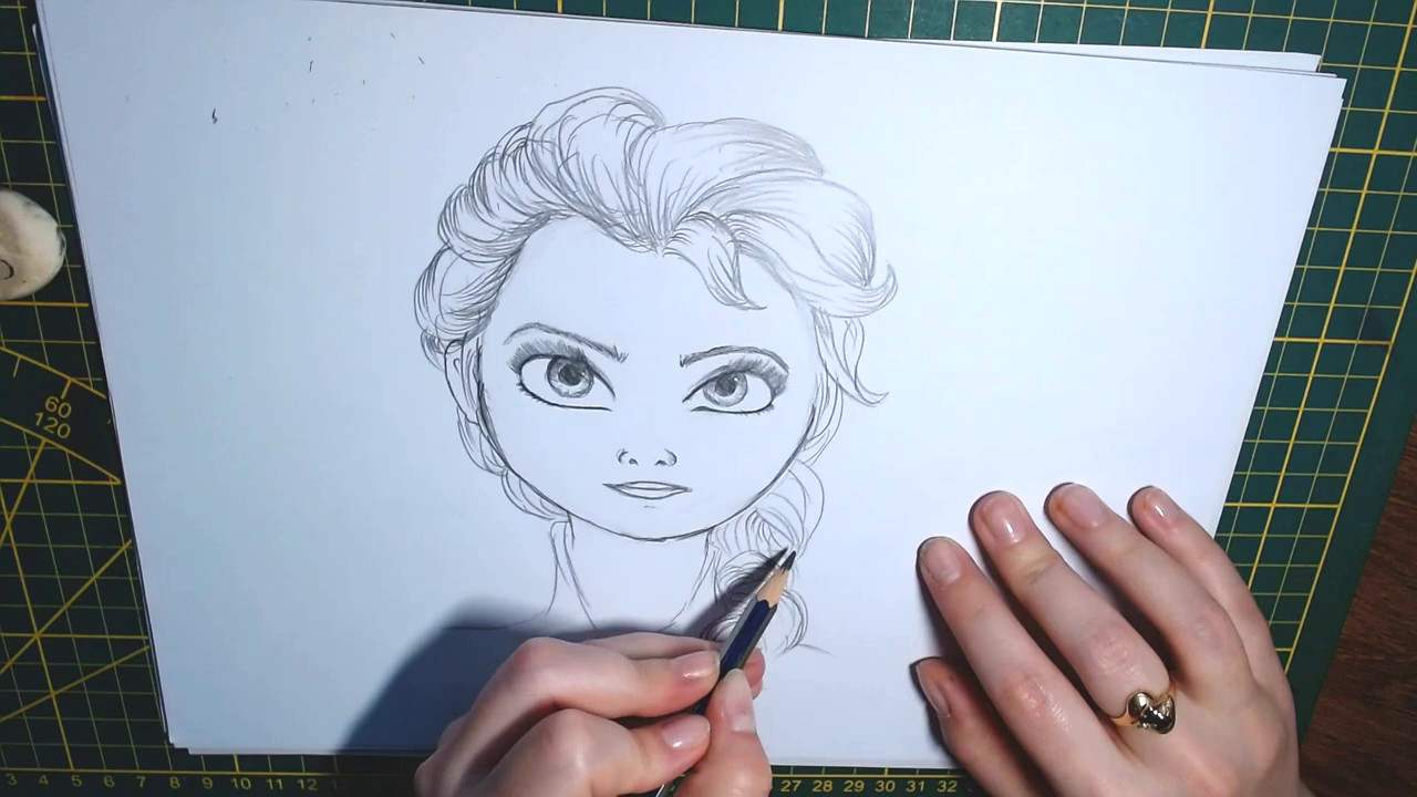 viziune desen creion)