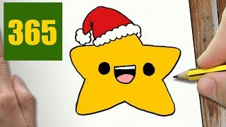 HOW TO DRAW A STAR CUTE, Easy step by step drawing lessons for kids