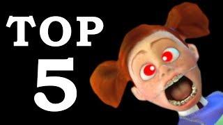 5 NAJWIĘKSZYCH ZŁOCZYŃCÓW Pixara!