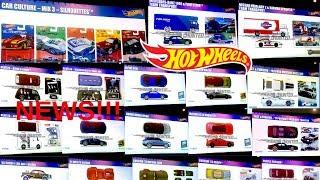 Hot Wheels 2019 Car Culture, Pop Culture, New Mainline Cars and More!!! Hot Wheels News!!!