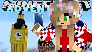 Minecraft-Little Kelly Adventures : TAKING SELFIES IN LONDON!
