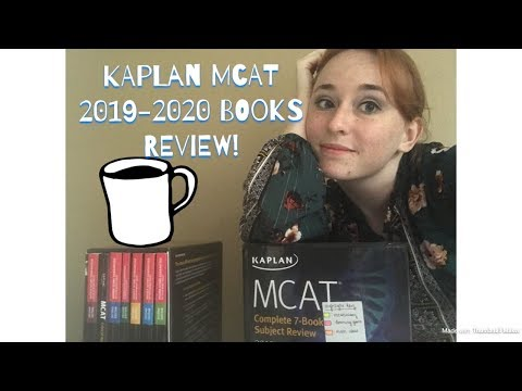 REVIEW of the Kaplan 2019-2020 MCAT Books! - YouTube