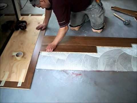 Hardwood Flooring: How to Install Hardwood Floors Glue Down Mryoucandoityourself