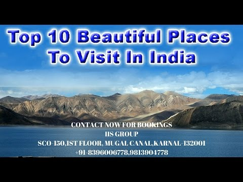 Top 10 Beautiful Places In India Youtube