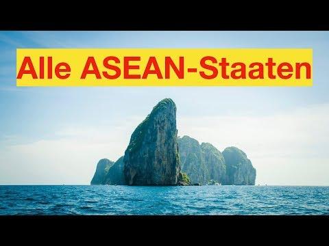 Alle ASEAN-Staaten
