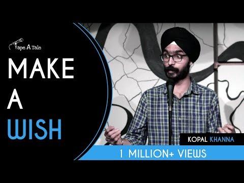 Make A Wish - Amandeep Singh | Kahaaniya - A Storytelling Show By Tape A Tale