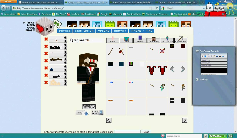 Minecraft Skin Creator/Editor