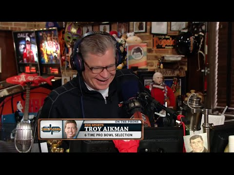 Troy Aikman on The Dan Patrick Show (Full Interview) 1/26/16
