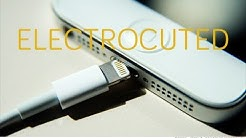 BREAKING!!! WOMAN GETS ELECTROCUTED BY IPHONE 5