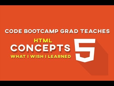 Code Bootcamp Grad Teaches HTML - WHAT I WISH I LEARNED FIRST