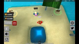 Roblox:Treasure Hunt Simulator! DIGGING ALL THE SAND!