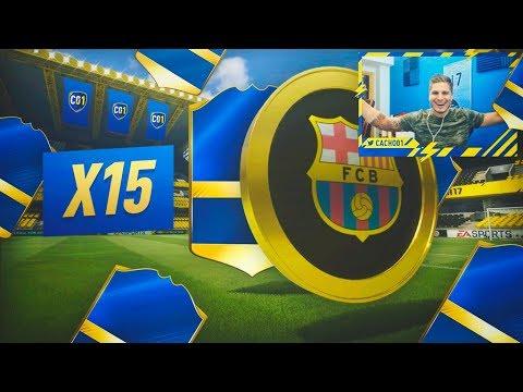 15 SOBRES DE TOTS ASEGURADO!! CON DJMARIIO, PUMUS, MIKEL Y FDEFIFA!! FIFA 17