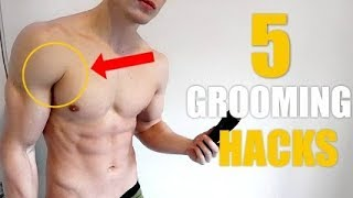 5 Male Model Grooming SECRETS