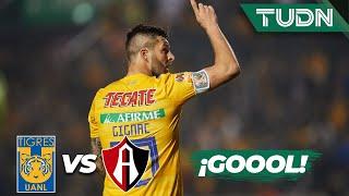 ¡Goool de Gignac que aprovecha terrible error! | Tigres 2 - 1 Atlas | Liga Mx - CL 2020 J-3 | TUDN