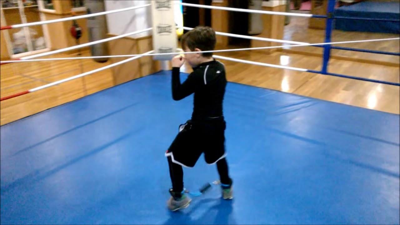 Entrenamiento Boxeo Niño 6 Años Youtube