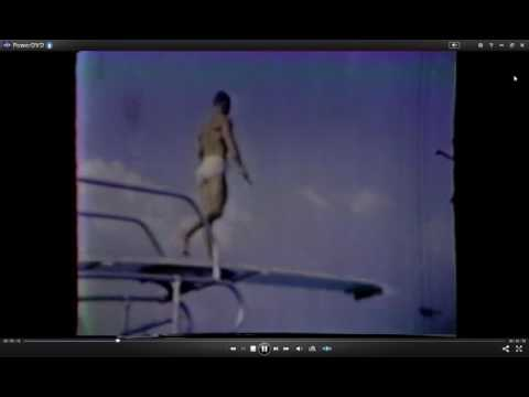 Nice diving... off the high dive at SWIMLAND (in Whitehall, Ohio) in 1958