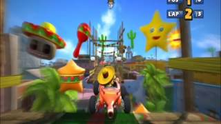 Sonic & Sega All-Stars Racing - Carnival Island - Jump Parade (HD)