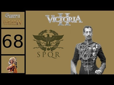 Victoria 2 - Byzantium Grand Campaign #68 - Basileus Louis Manuel - Chemical Warfare