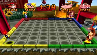 Crash Bash - Pogo a Gogo Platinum Relic