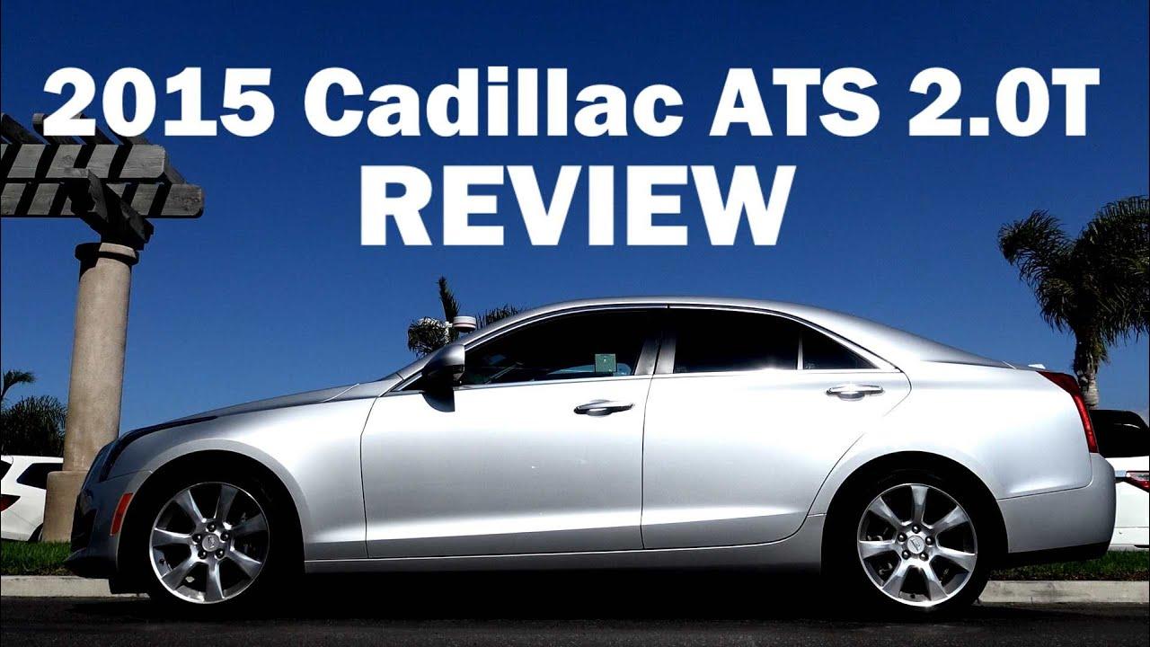 2015 Cadillac Ats 2 0l Turbo Luxury Sedan Review Youtube