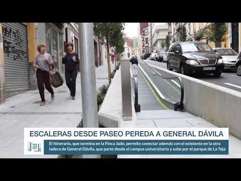 Escaleras mecánicas de Paseo Pereda a General Dávila