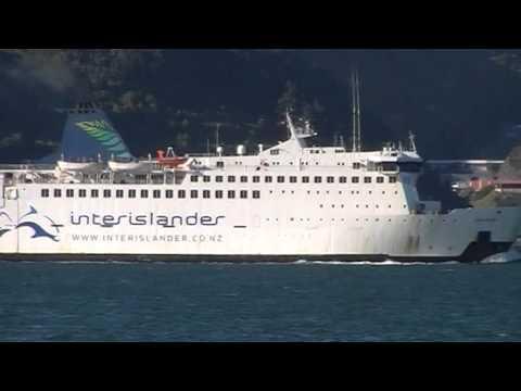 Interislander ferry Arahua in Wellington harbour