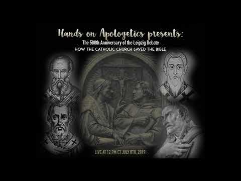 500th Anniversary of Leipzig Debate/Dispute-Hands on Apologetics Radio Show