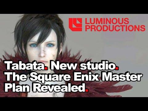 Tabata. New Studio. Square Enix's Master Plan Revealed + Back Story