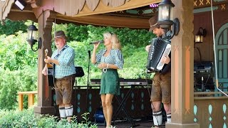 Margret Almer and The Bavarian Band at Epcot'...
